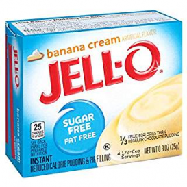 Jell-O Sugar Free Banana Cream Pudding