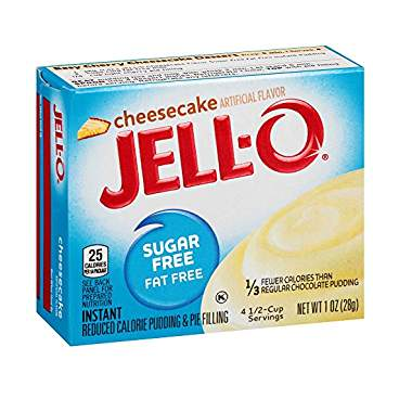 Jell-O Sugar Free Cheesecake Pudding