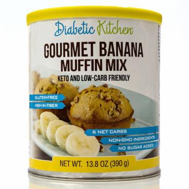 Diabetic Kitchen Gourmet Banana Muffin Mix