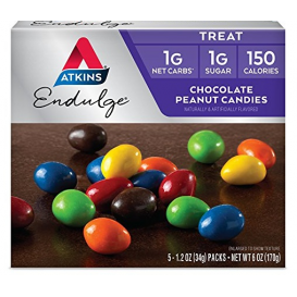 Atkins Endulge Chocolate Peanut Candies