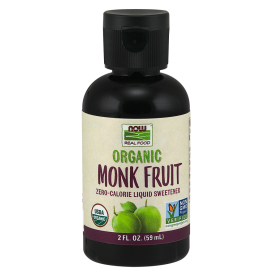 NOW Organic Monk Fruit Liquid Sweetener