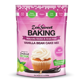 ZenSweet Sugar Free Vanilla Bean Cake Mix