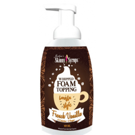 Jordan's Sugar Free Foam Topping - French Vanilla