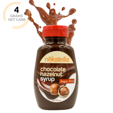 Nekstella Sugar Free Chocolate Hazelnut Syrup
