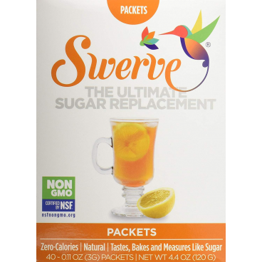 Swerve Erythritol Sweetener Packets