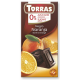 Torras No Sugar Dark Chocolate with Orange