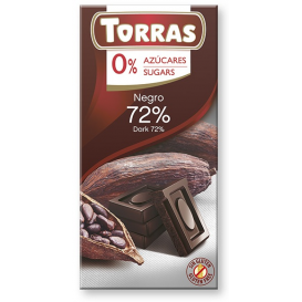 Torras Sugar Free Dark Chocolate