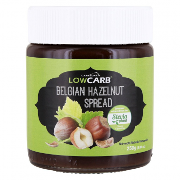 CarbZone Low Carb Belgian Hazelnut Spread