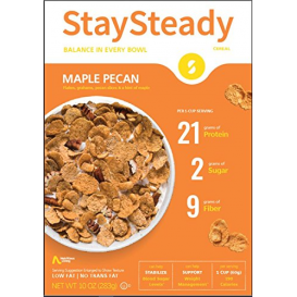 Nutritious Living StaySteady Cereal Maple Pecan