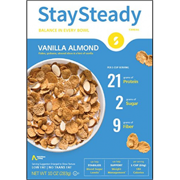Nutritious Living StaySteady Cereal Vanilla Almond