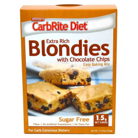CarbRite Diet Chocolate Chip Blondies Mix