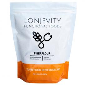 Lonjevity Low Carb Fiber Flour Substitute