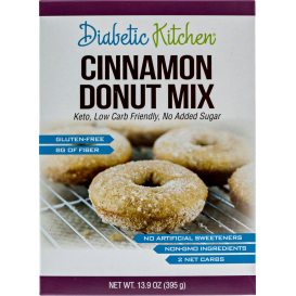 Diabetic Kitchen Cinnamon Donut Mix