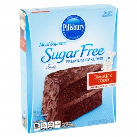 Pillsbury Moist Supreme Sugar Free Premium Devil's Food Cake Mix