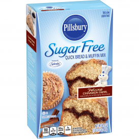 Pillsbury Sugar Free Cinnamon Swirl Quick Bread & Muffin Mix