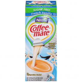 Nestle Coffee-Mate Sugar Free French Vanilla Liquid Coffee Creamer