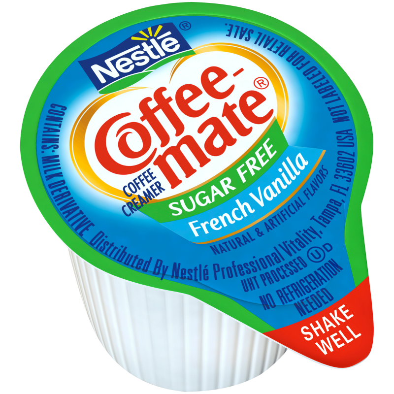 Nestle Coffee Mate Sugar Free French Vanilla Liquid Coffee