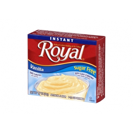 Royal Sugar Free Vanilla Pudding