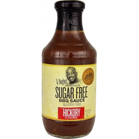 G Hughes Smokehouse Sugar Free Hickory BBQ Sauce