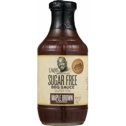 G Hughes Smokehouse Sugar Free Maple Brown BBQ Sauce
