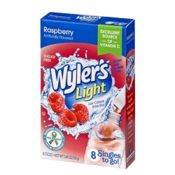 Wyler's Light Singles to Go Sugar Free Raspberry  Drinks