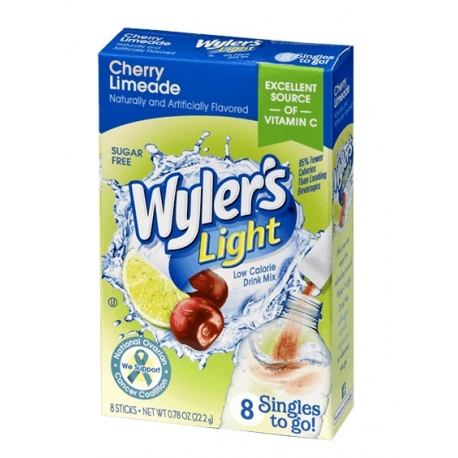 Wyler's Light Singles to Go Sugar Free Cherry Limeade  Drinks