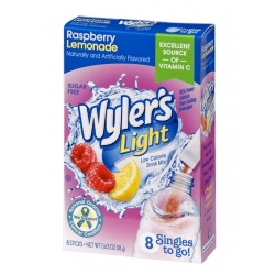 Wyler's Light Singles to Go Sugar Free Raspberry Lemonade Drinks