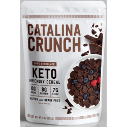 Catalina Crunch Keto Friendly Cereal Dark Chocolate