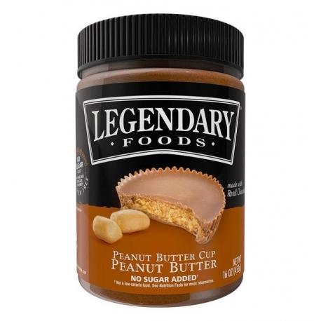 Legendary Foods Peanut Butter Cup Peanut Spread
