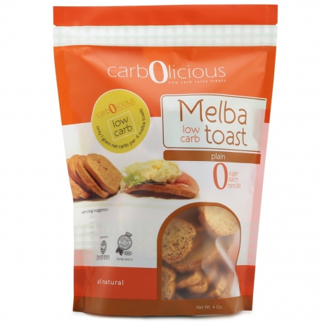 Carbolicious Low Carb Melba Toast Plain