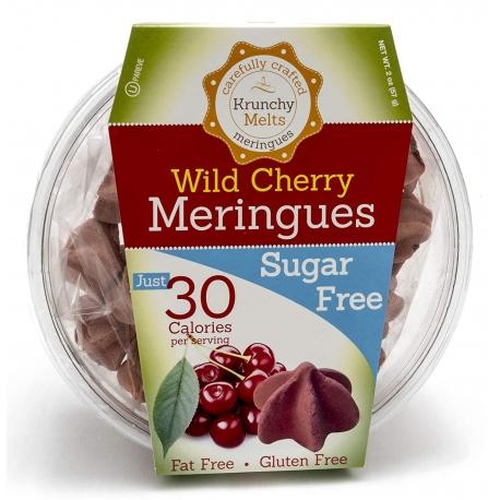 Krunchy Melts Sugar Free Meringues - Wild Cherry