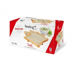 FeelingOK Low Carb Toasts Plain