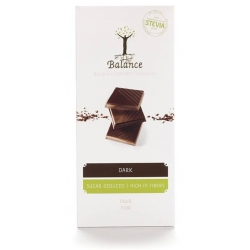 Balance Belgian Luxury Dark Chocolate with Stevia