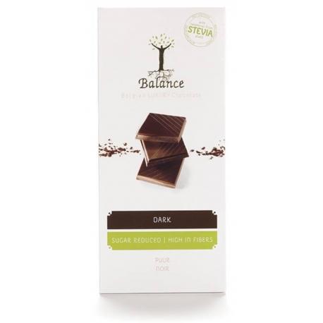 Balance Belgian Luxury Dark Chocolate with Stevia