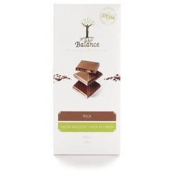 Balance Belgian Luxury Milk Chocolate with Stevia