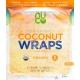 NUCO Organic Coconut Wraps Turmeric