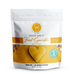 Good Dee's Sugar Free Food Sparkle Yellow Gold