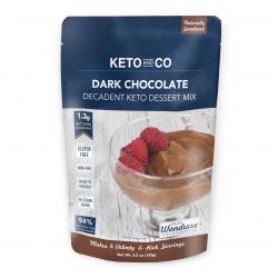 Keto and Co Decadent Keto Dark Chocolate Dessert Mix