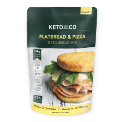 Keto and Co Flatbread & Pizza Keto Bread Mix