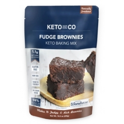 Keto and Co Keto Fudge Brownies Mix