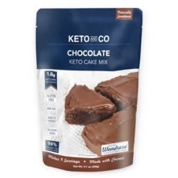 Keto and Co Keto Chocolate Cake Mix