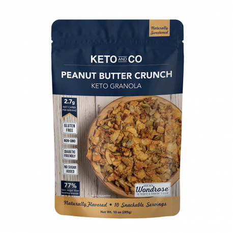 Keto and Co Keto Granola Peanut Butter Crunch