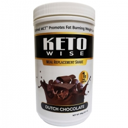 Healthsmart Keto Wise Meal Replacement Shake Dutch Chocolate