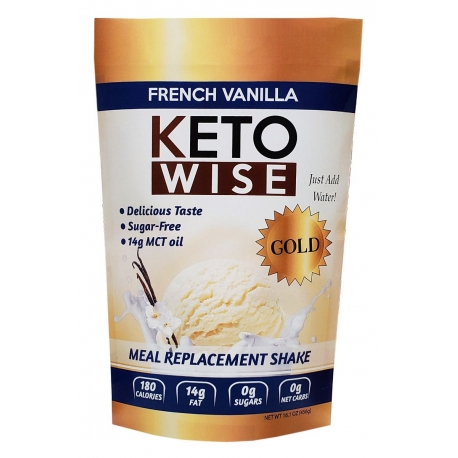 Healthsmart Keto Wise Meal Replacement Shake French Vanilla