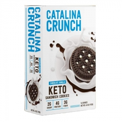 Catalina Crunch Keto Sandwich Chocolate Vanilla Cookies