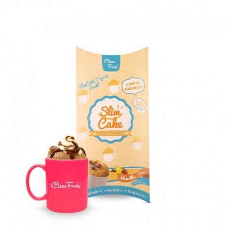 SlimCake Vanilla Mug Cake