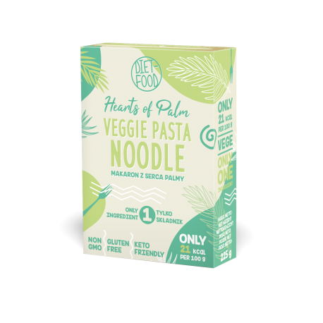 Diet Food Low Carb Vegetable Noodles