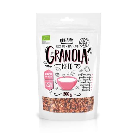 Diet Food Organic Keto Granola