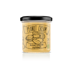 Diet Food Organic Peanut Cream