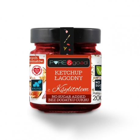 Pure & Good Mild Ketchup with Xylitol